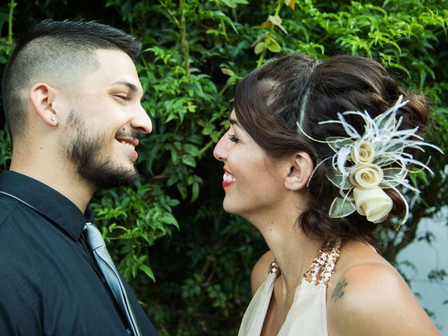 El casamiento de Natalia y Ezequiel