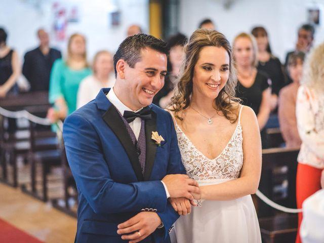 El casamiento de Marina y Óscar