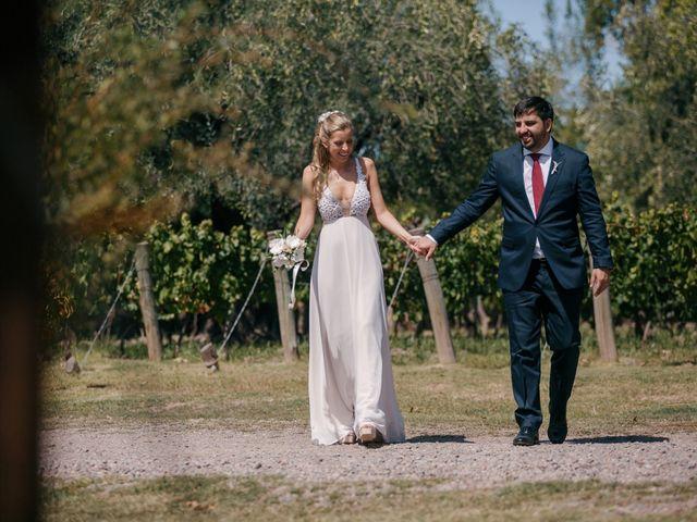El casamiento de Agustina y Álvaro
