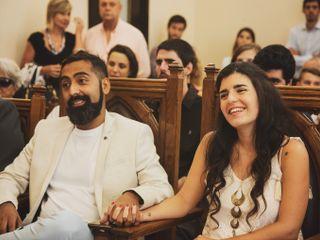 El casamiento de Nayla y Fede 1