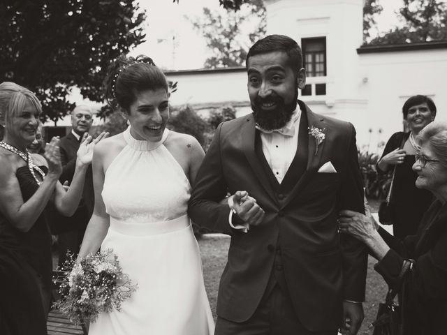 El casamiento de Nayla y Fede