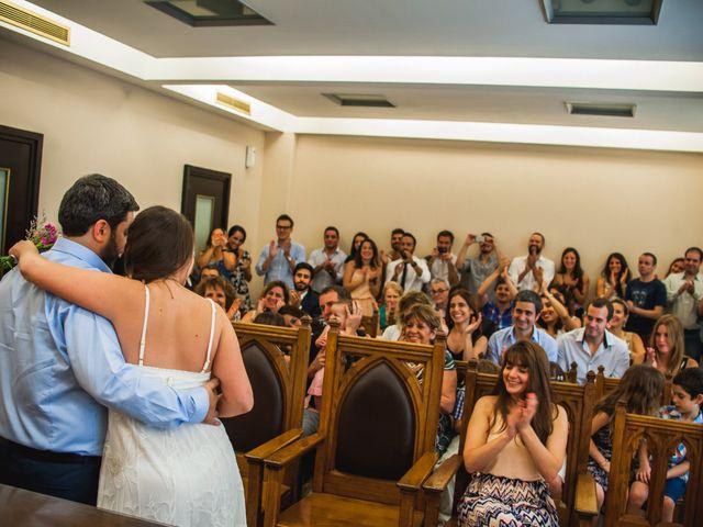 El casamiento de Nacho y Juli en Caballito, Capital Federal 9