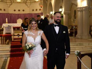 El casamiento de Franco y Laura
