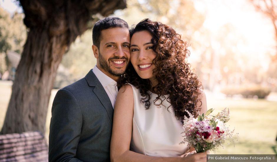 El casamiento de Manuel y Ana en Luján de Cuyo, Mendoza