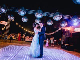 El casamiento de Solange y Leandro