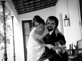 El casamiento de Florencia y Milton