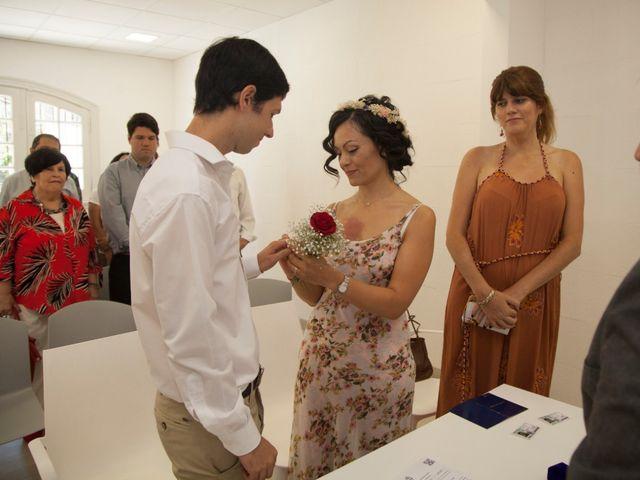 El casamiento de Temis y Nicolás