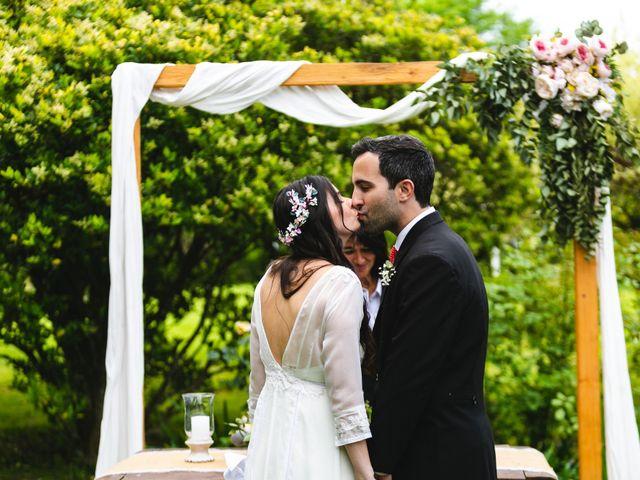 El casamiento de Delfina y Diego