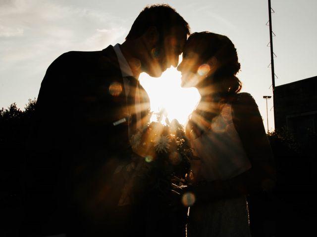 El casamiento de Victoria y Federico