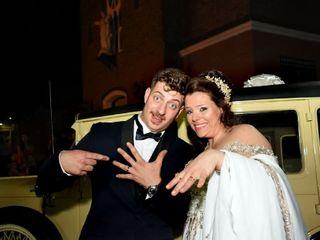 El casamiento de Agustina y Adán