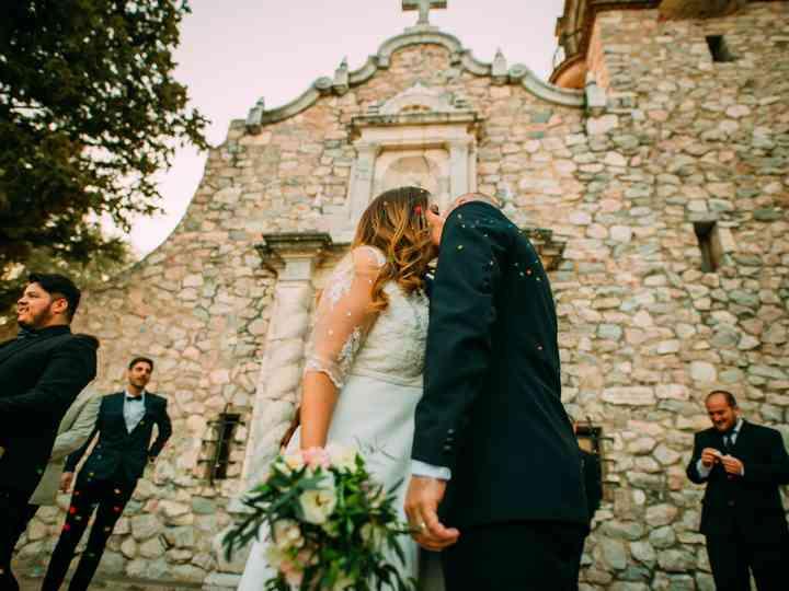 El casamiento de Moni y Juan