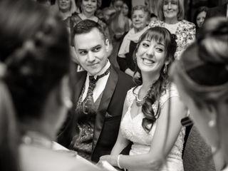 El casamiento de Cynthia y Javier