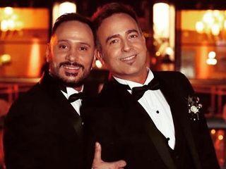 El casamiento de Diego  y Walter  1