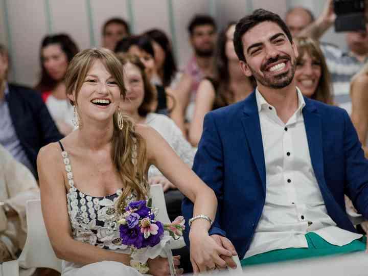 El casamiento de Rocío y Nicolás
