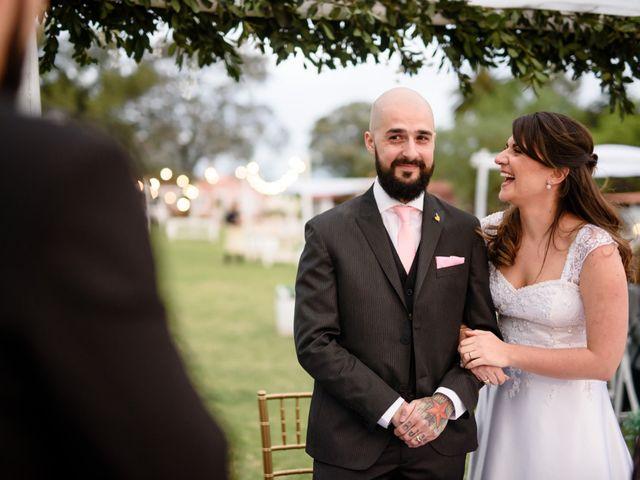 El casamiento de Denise y Raul
