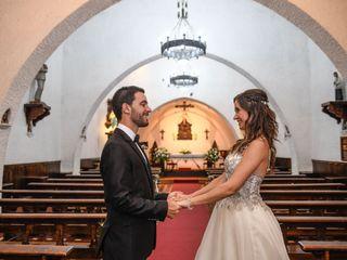 El casamiento de Cristal y Gustavo