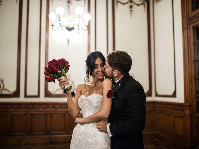 El casamiento de Flor y Mathi