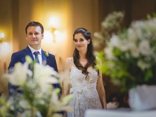 El casamiento de Agus y Leo