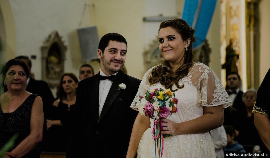 El casamiento de Franco y Flor en San Lorenzo, Santa Fe