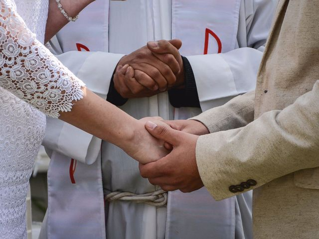 El casamiento de Cecilia y Cristian