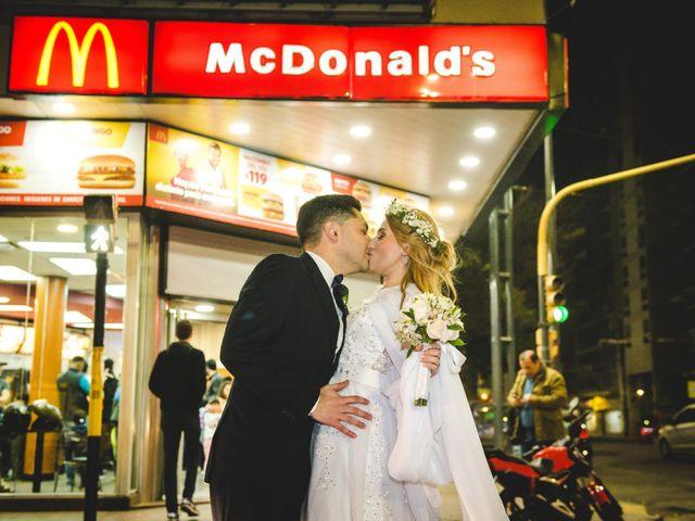 El casamiento de Evelin y Elio