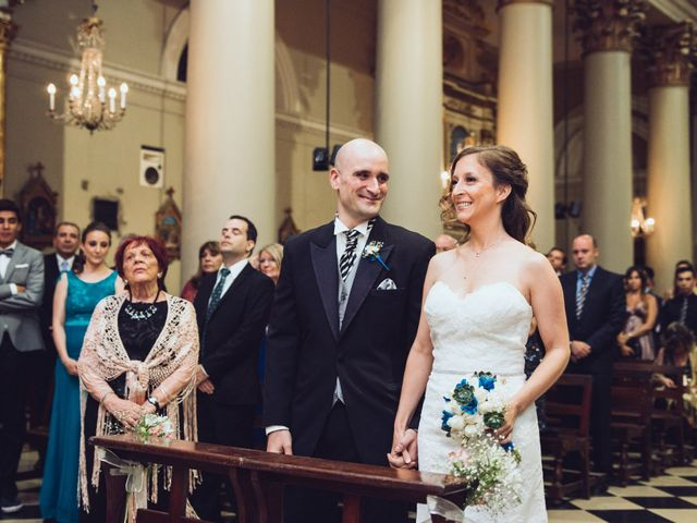 El casamiento de Erika y Agustin
