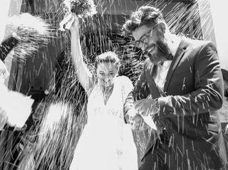 El casamiento de María Emilia y Fernando
