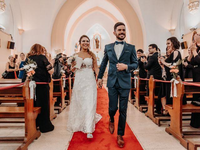 El casamiento de Fiorella y Martín