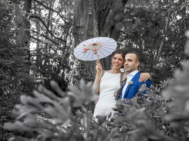 El casamiento de Carolina y David