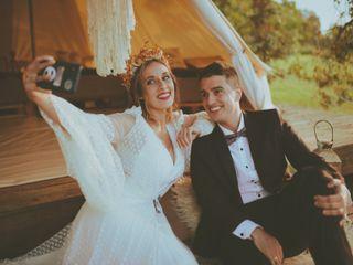 El casamiento de Stefi y Bastian