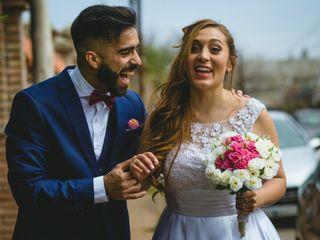 El casamiento de Mabel y Angel