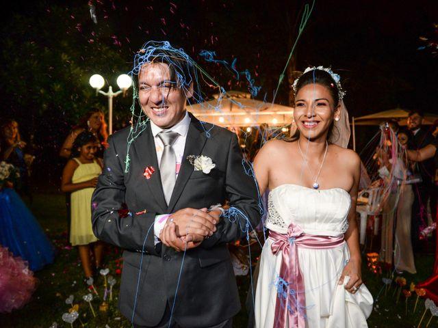 El casamiento de Claudia  y Fernando