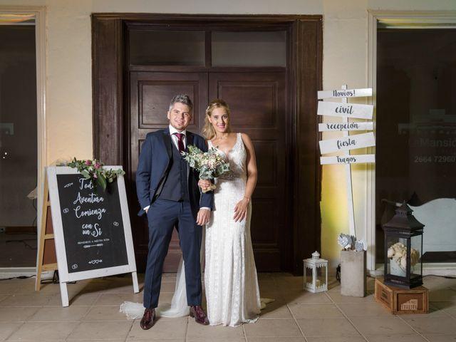 El casamiento de Vir y Nico