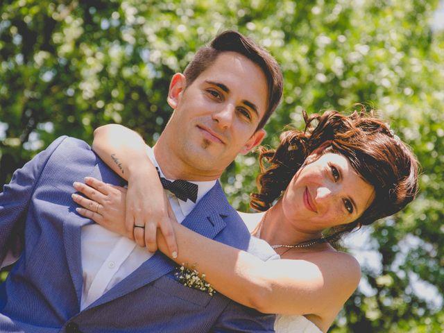 El casamiento de Gisela y Juan