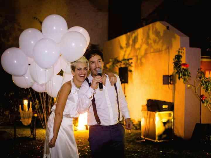 El casamiento de Agostina y Leandro