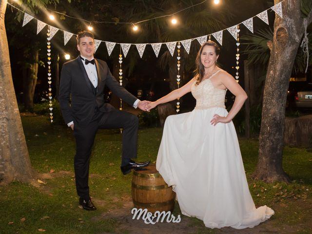 El casamiento de Soledad y Mauro