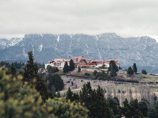 El casamiento de Gustavo y Elizandra en San Carlos de Bariloche, Río Negro 2