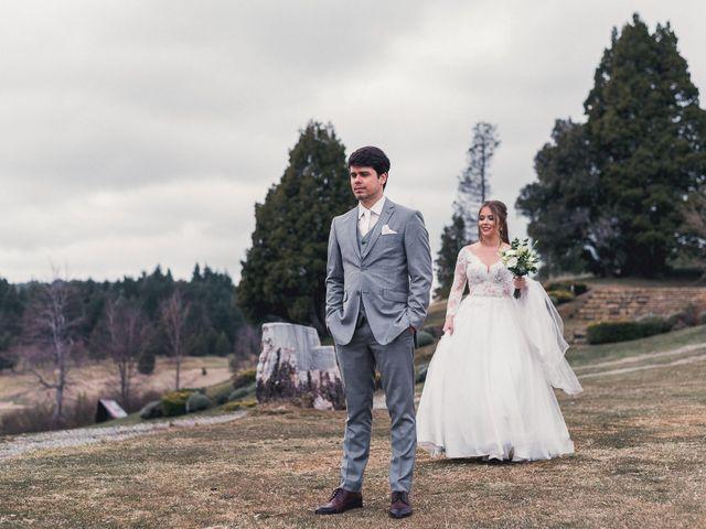 El casamiento de Gustavo y Elizandra en San Carlos de Bariloche, Río Negro 9