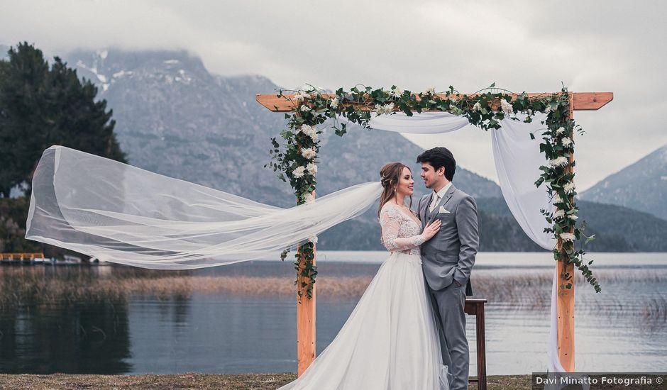 El casamiento de Gustavo y Elizandra en San Carlos de Bariloche, Río Negro