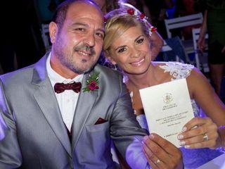 El casamiento de Silvina y Gustavo