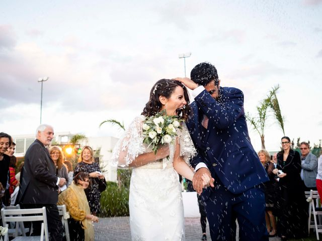 El casamiento de Macarena y Sebastián