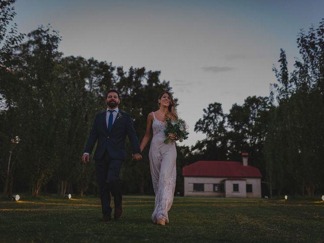 El casamiento de Elspeth y Martin