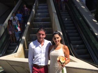 El casamiento de Antonella y Gustavo