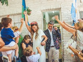 El casamiento de Cecilia y Matías