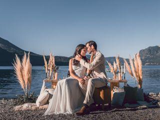 El casamiento de Agata y Rubén