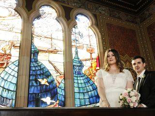 El casamiento de Loana y Alejandro
