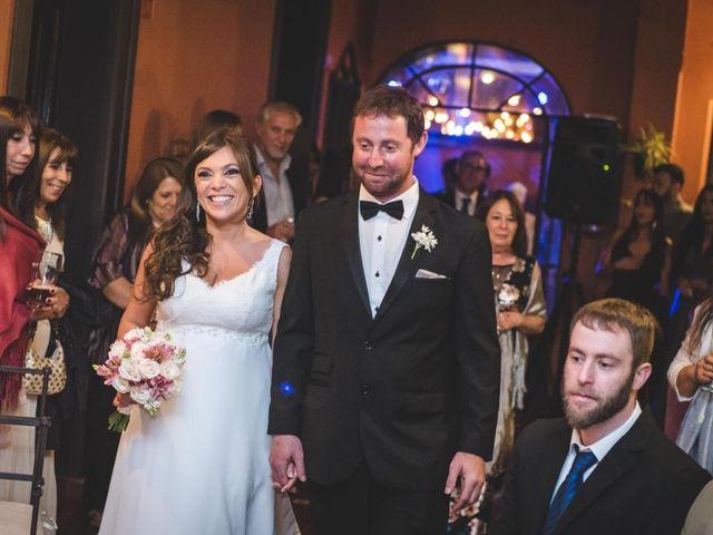 El casamiento de Caro y Jere