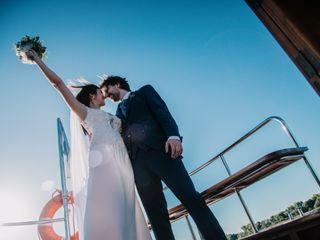El casamiento de Leila  y Diego  1