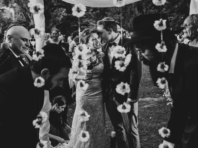 El casamiento de Bar y Demi