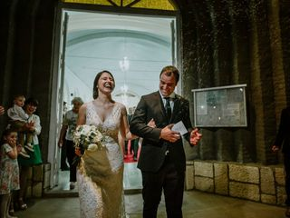 El casamiento de Lucia y Franco